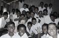Schüler unserer Partnerschule in Chaibasa
